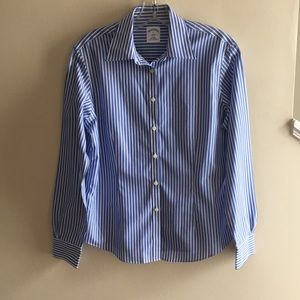 Brooks Brothers Striped Blouse Size 6